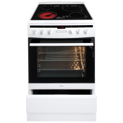 AMICA 608CE2TAW Freestanding Electric Cooker