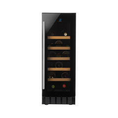 AMICA AWC301BL Freestanding Wine Cabinet