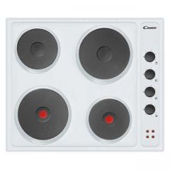 Candy CLE64W Electric Hob