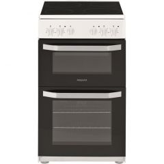 Hotpoint HD5V92KCW Electric Cooker with Ceramic Hob