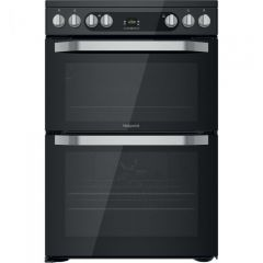 Hotpoint HDM67V9HCB Electric Double Oven Cooker