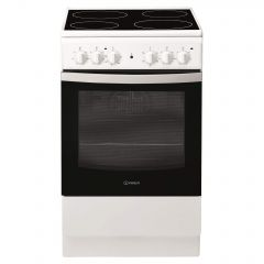 Indesit IS5V4KHW Freestanding Electric Cooker