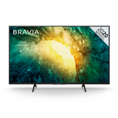"""Sony KD43X7052PBU 43"""" 4K Ultra HD HDR LED Android TV with X-Reality Pro + Triluminos Display"""