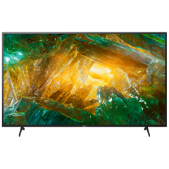 """Sony KE75XH8096BU 75"""" 4K Ultra HD HDR LED Android TV with X-Balanced Speakers + Triluminos Display"""